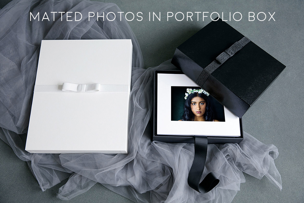 Matted-photo-in-box