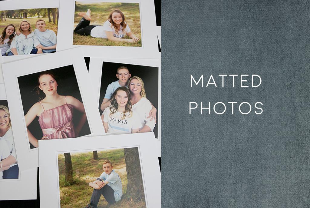 Matted-photos